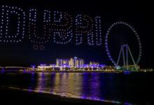 Photo of 300 طائرة درون تقدم عروضاً ضوئية وصوتية في عطلة نهاية الأسبوع الأخيرة لمهرجان دبي للتسوق