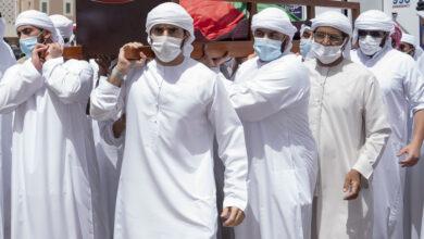 Photo of تشييع جثمان الشيخ حمدان بن راشد إلى مثواه الأخير