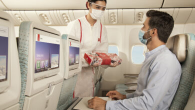 Photo of Emirates collaborates with Dubai-based artists for a special edition of its Ramadan boxes