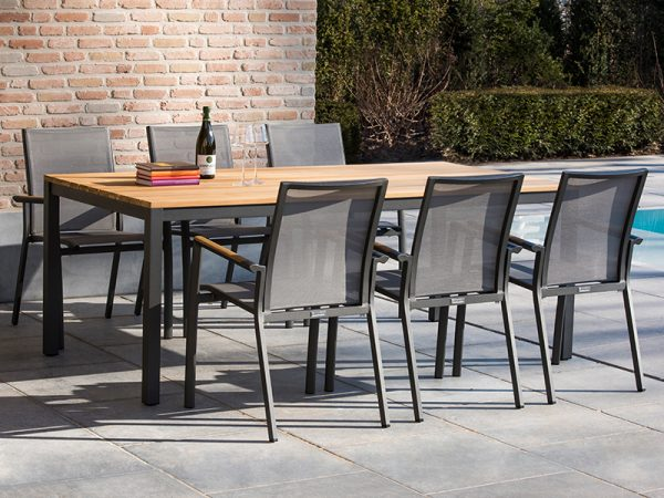 stevige stijlvolle tuinset axial