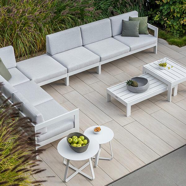 stijlvol klassieke loungeset vigo aluminium