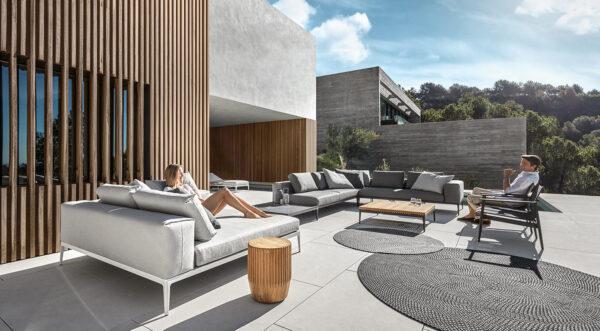 flexibele loungeset grid gloster