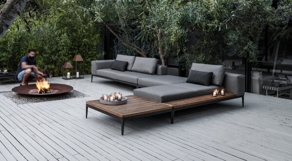 loungeset grid gloster
