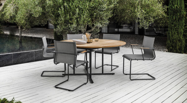 unieke ronde tuinset whirl gloster