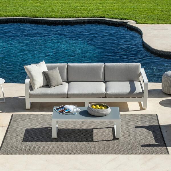 luxueuse frisse loungeset reno aluminium jati&kebon