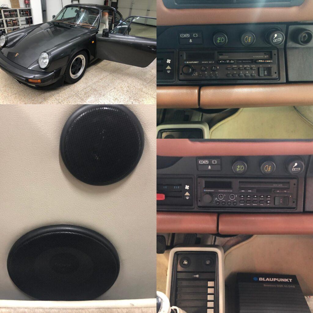 Porsche 911 - Radio und Lautsprecher Upgrade