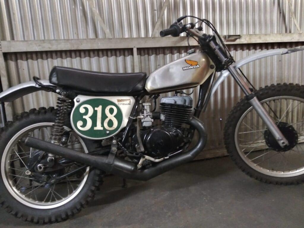1973 Honda CR250m survivor bike