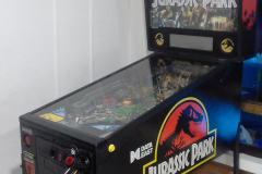 PINBALL MACHINE COSTA RICA 1993 DATA EAST JURASSIC PARK