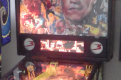 1993 DATA EAST LAST ACTION HERO PINBALL MACHINE COSTA RICA