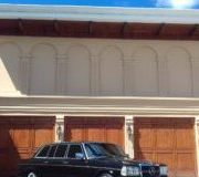 3 CAR GARAGE MANSION. COSTA RICA MERCEDES SEDAN W123 LIMOUSINE