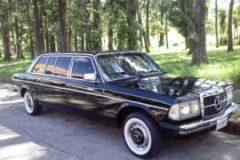 300D LANG W123 SEDAN LIMOUSINE. ROHRMOSER COSTA RICA