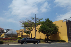 300D MERCEDES LIMOUSINE Museo Nacional de Costa Rica