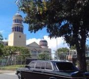 iglesia de la santisima trinidad de barrio mexico. MERCEDES LIMO RIDES FOR WEDDINGS AND SPECIAL EVENTS