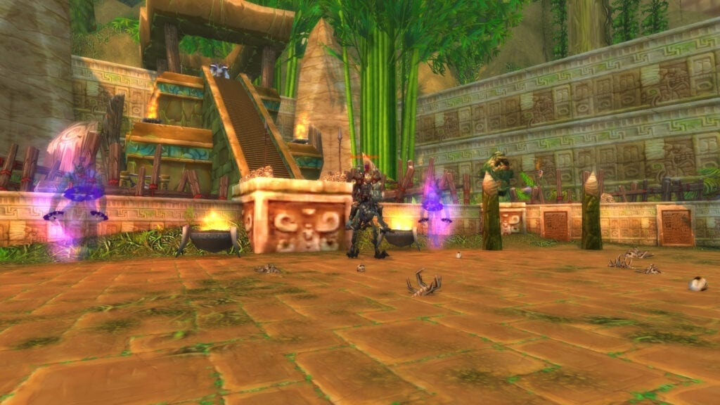 Bloodlord Mandokir is the boss who can drop the Armored Razzashi Raptor