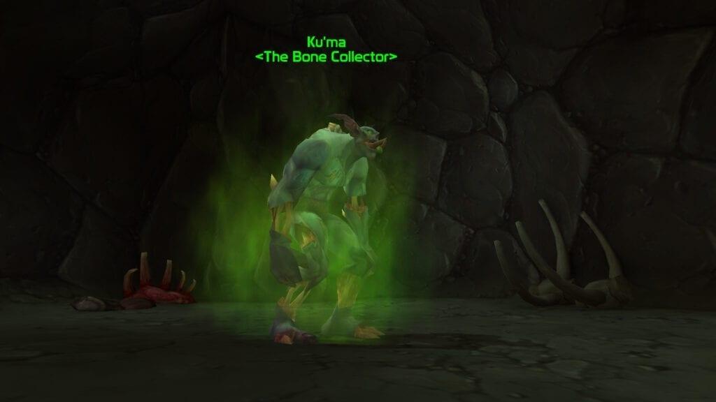 Ku'ma who sells the Bone-White Primal Raptor