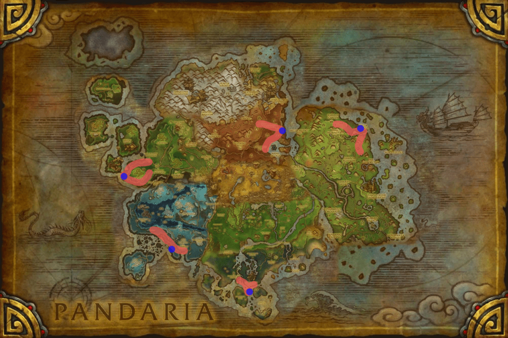 Warbringer and Warscouts spawn location map