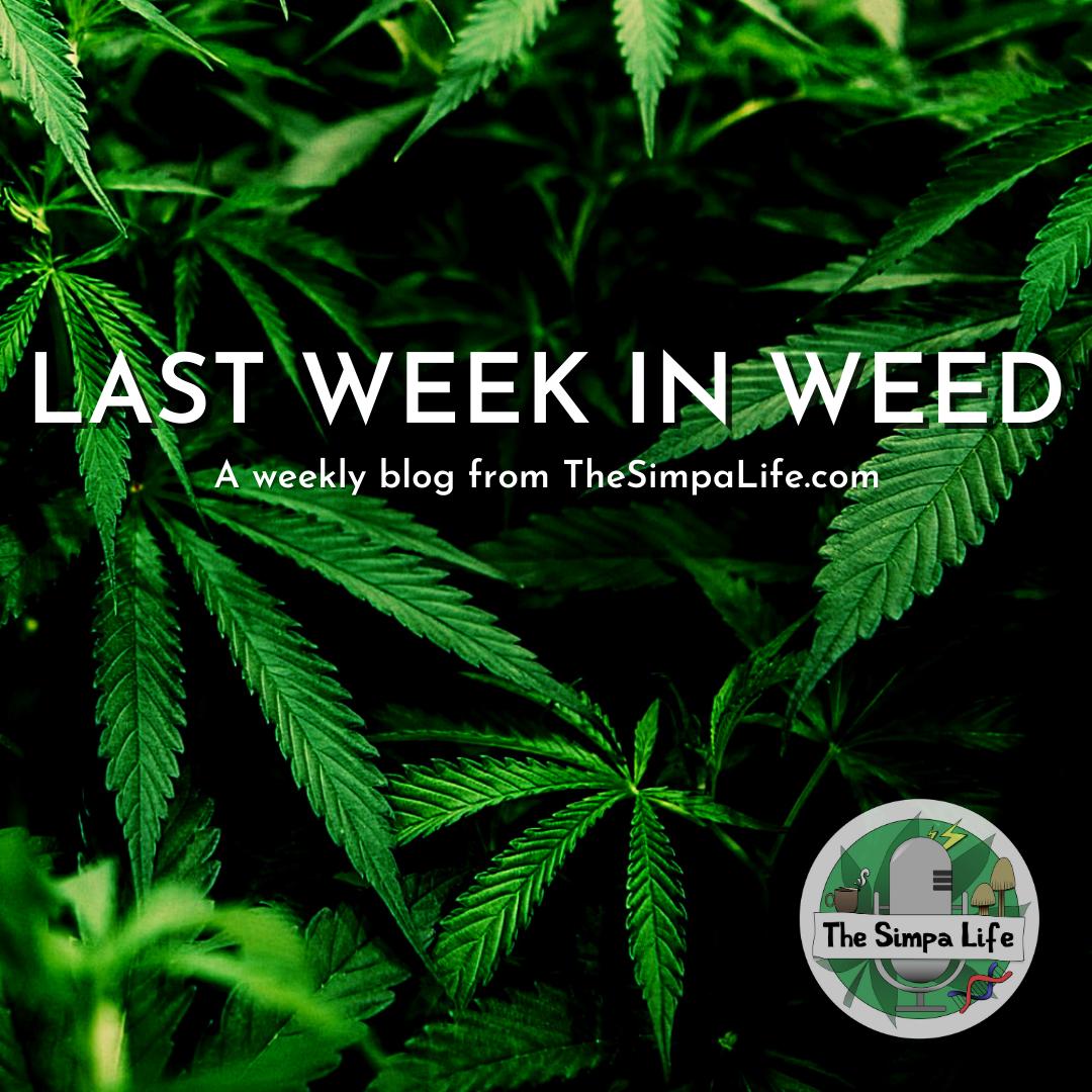 Last Week in Weed Issue 28