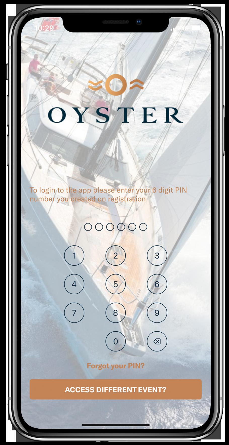 oyster - login