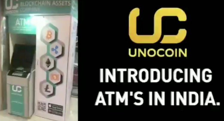 Unocoin cryptocurrency Kiosk