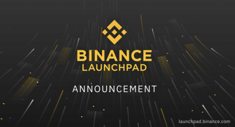 Binance Launchpad lottery format