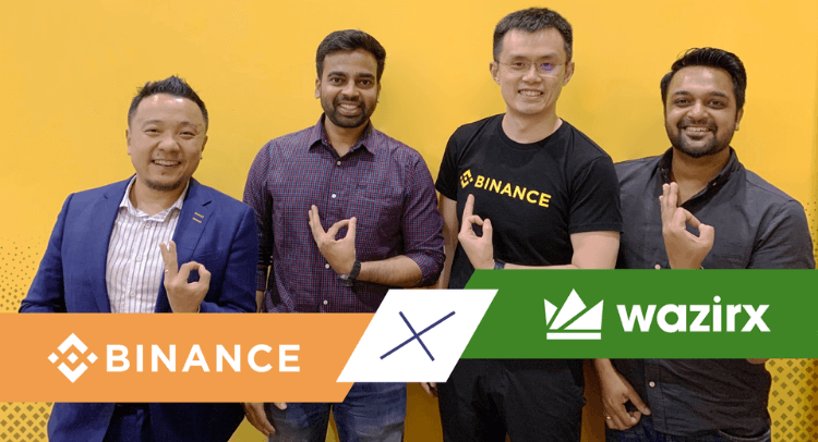 Binance acquires WazirX
