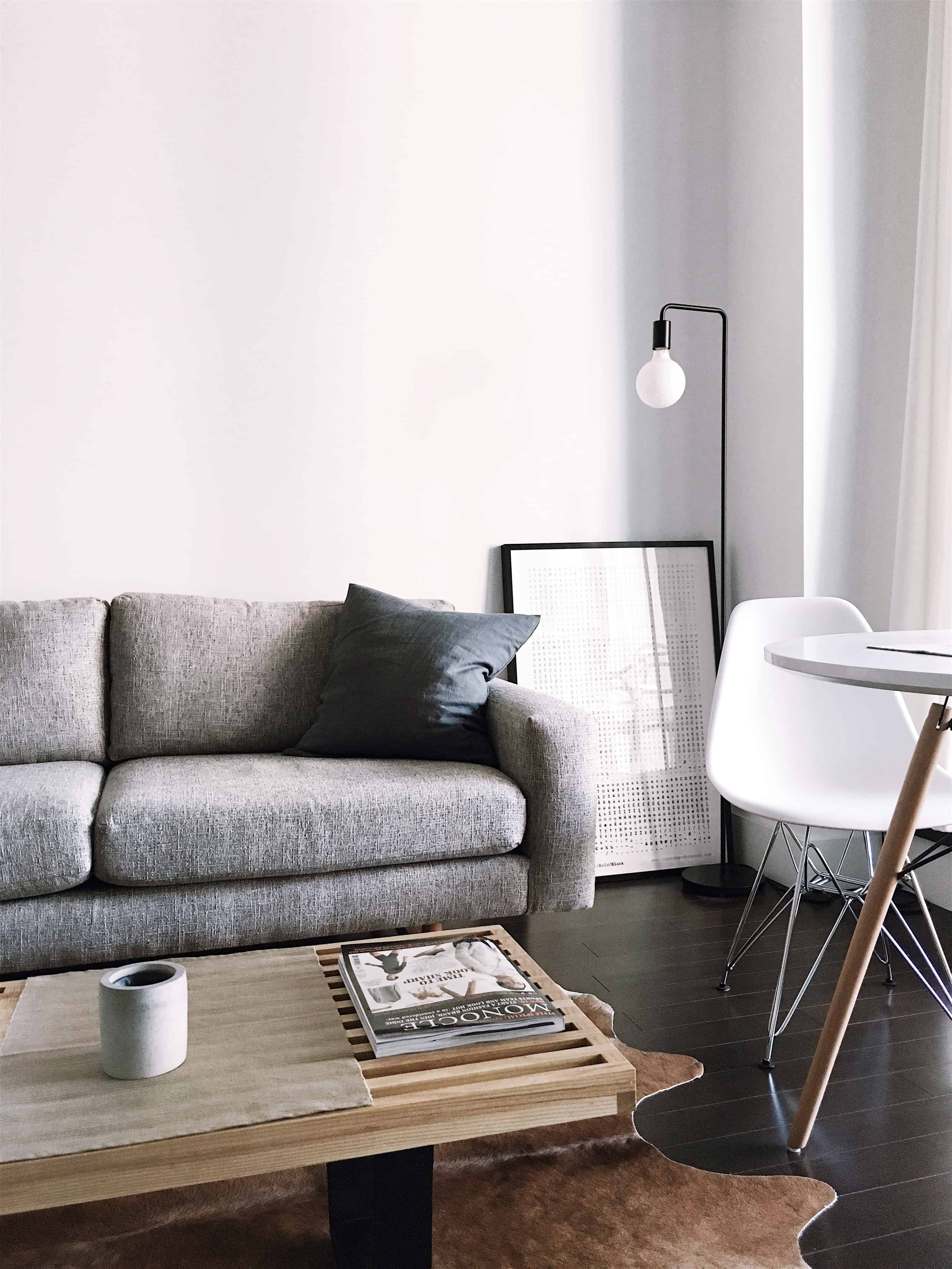 Sofa view - interior design company in bangalore