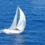 Mhadei charging to Mauritius for India's first solo circumnavigator Dilip Donde