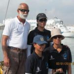 Mhadei in Chennai for India's first solo circumnavigator Dilip Donde