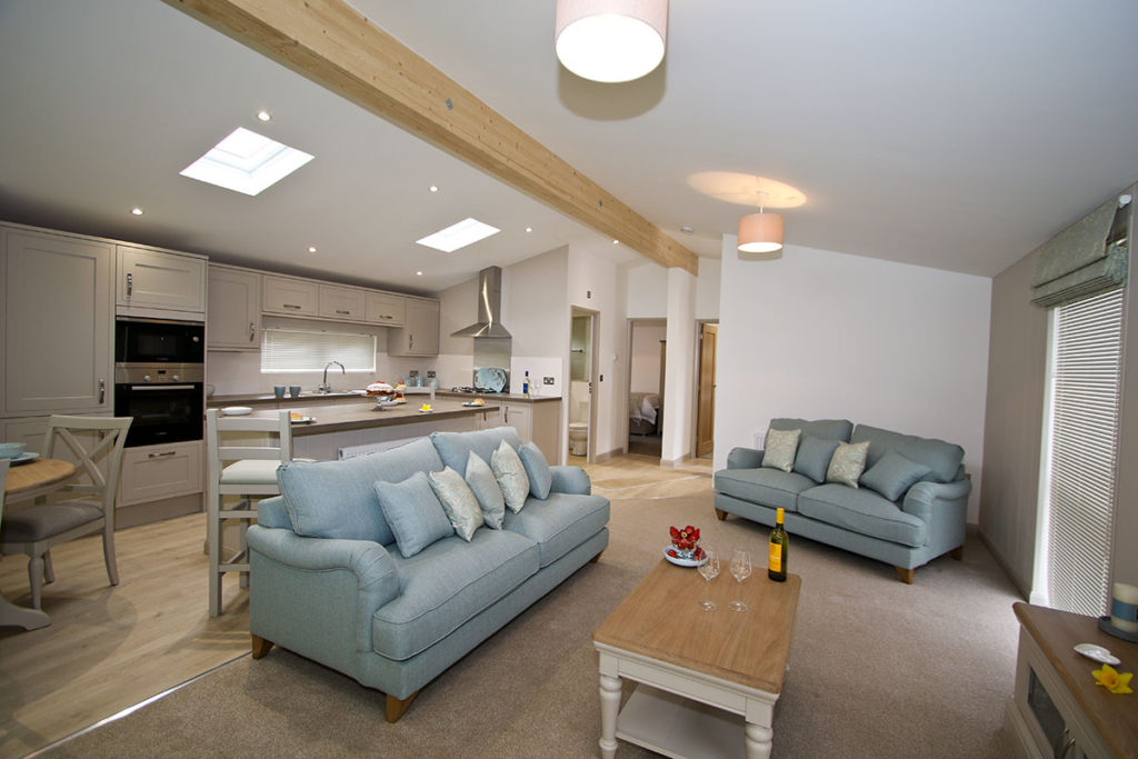 New Lodge for Sale - Spacious living area