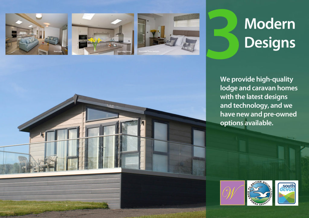Modern, spacious, family lodges