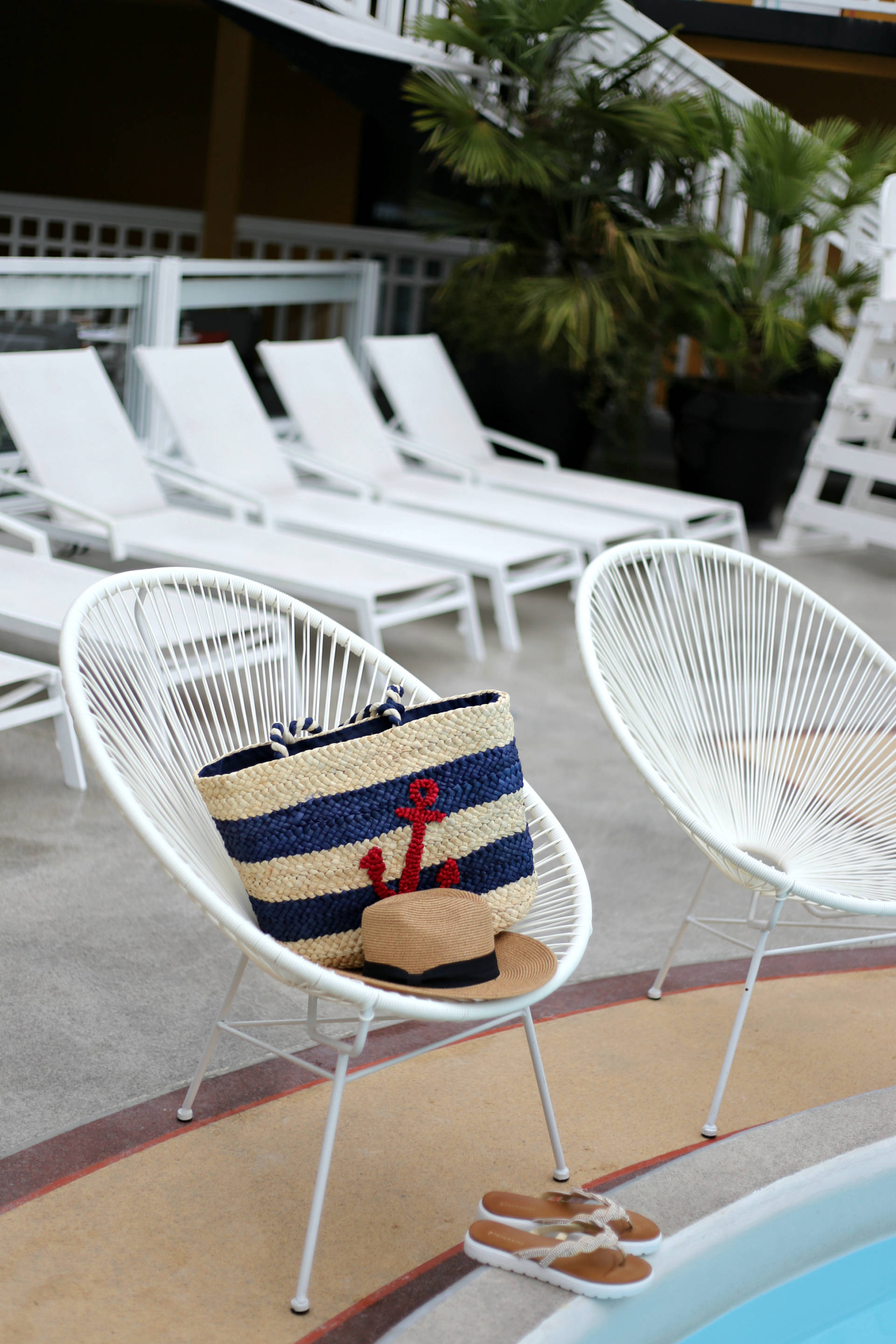 The best outdoor pool in Paris & Pia Rossini giveaway
