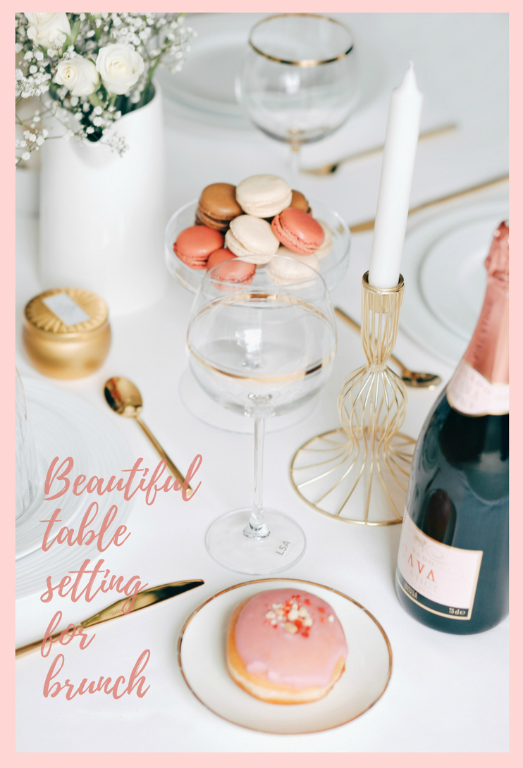 5 tips for setting up a pretty table for brunch