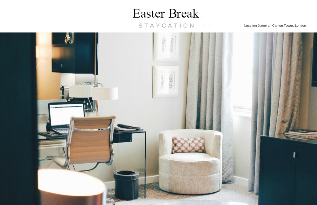 Easter break staycation