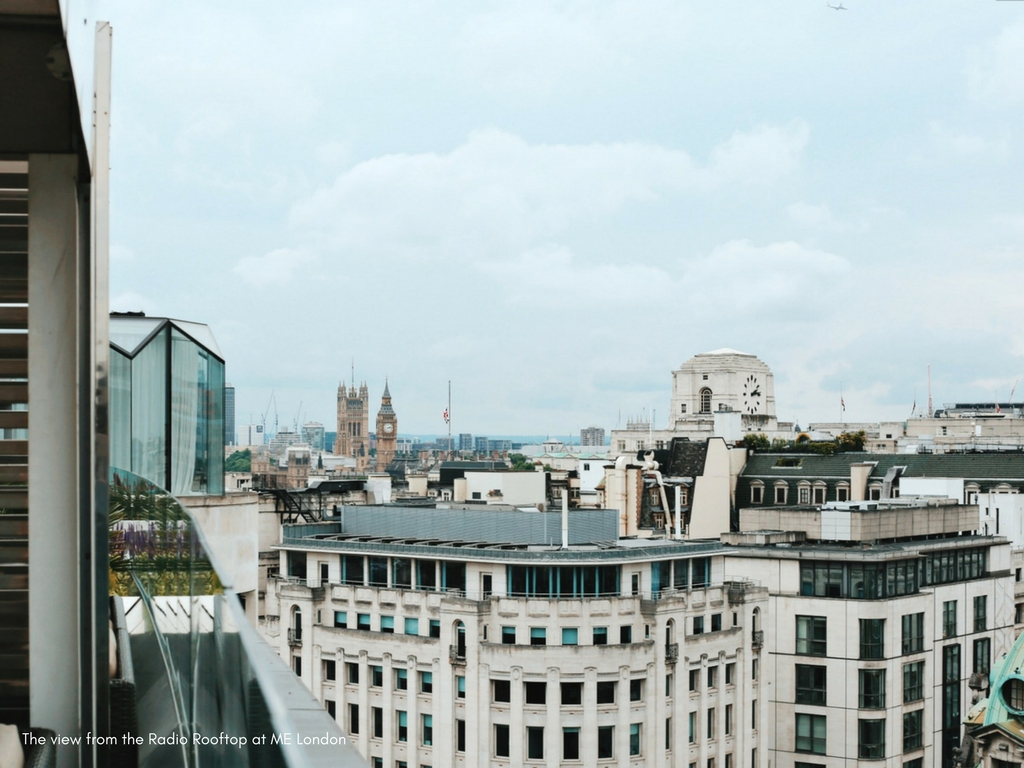 Favourite brunch spot with a view in London