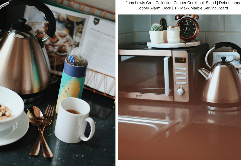 Shop the trend - copper home accessories