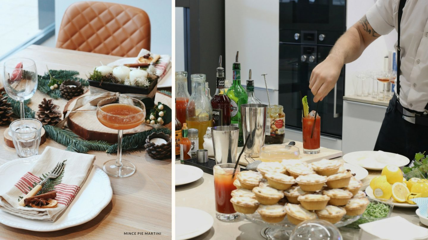 Getting into the festive spirit with Iceland Christmas Food - Mince Pie Martini & Luxury Mince Pies