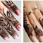 Finger Mehndi Designs