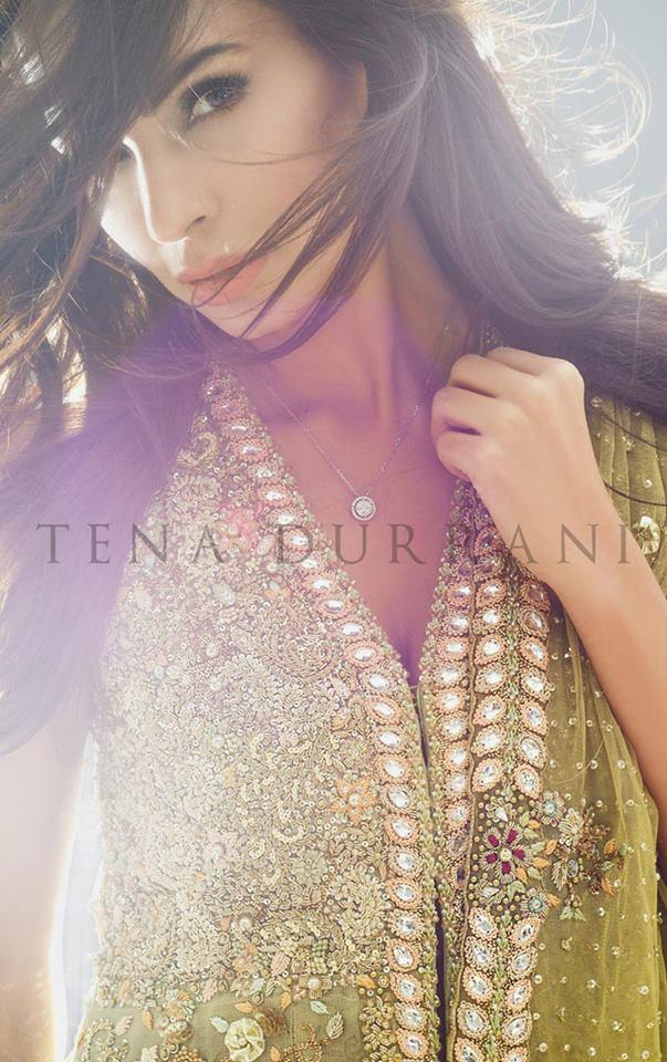 Teena Durrani Omorose Elegant bridal wear