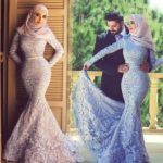 Bridal Hijab Dresses Every Muslim Bride Should Check Out