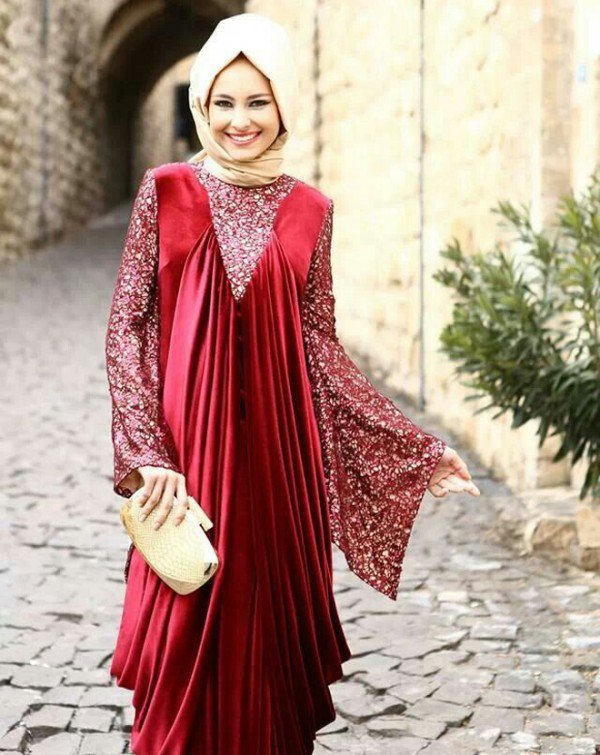 Bridal Hijab Dresses