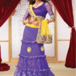 Fishtail Lehenga Bridal Party Wear Dress For Indian Brides