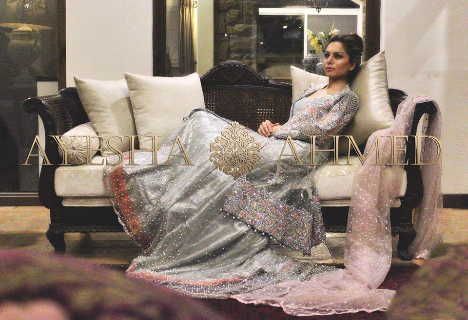 Ayesha Ahmed Bridal Formal Wear