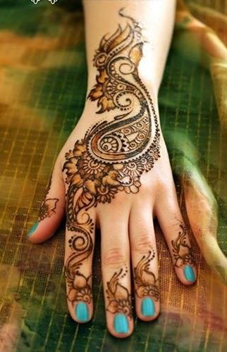 Bridal Eid Mehndi Designs For Summer Events