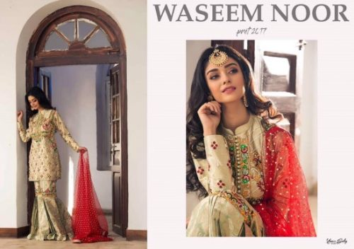 Waseem Noor Summer Bridal Pret Collection 2017