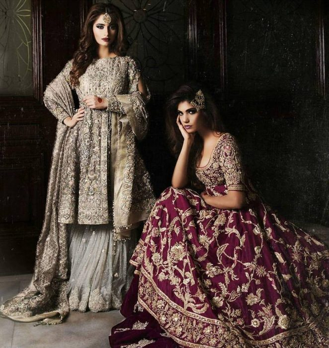 Walima Bridal Lehenga Designs Ivy Couture Collection 2017