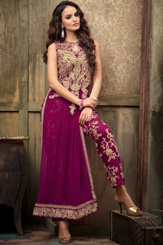 Ankle Length Wedding Dresses With Sleeves for Indian Brides