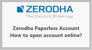 Account with Zerodha