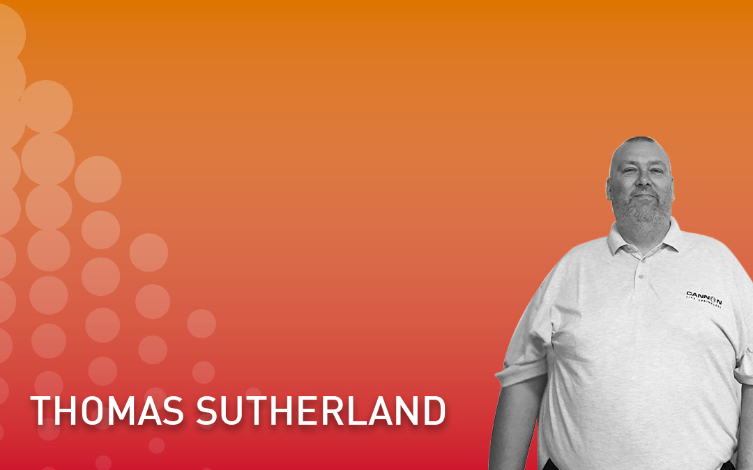 Cannon Fire Sprinklers welcomes Thomas Sutherland
