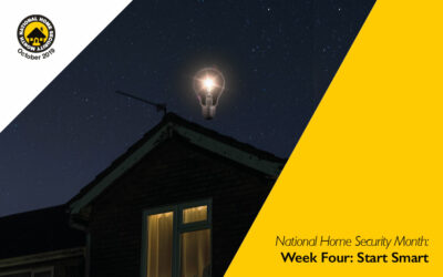 National Home Security Month: Start Smart