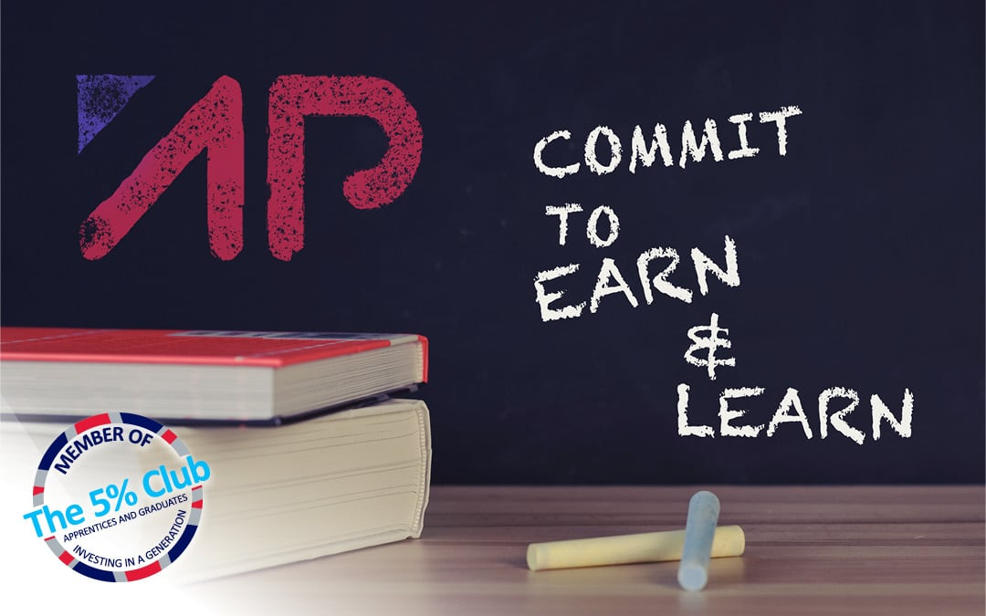 APG commits to 'earn and learn' by joining The 5% Club.